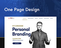 Personal Branding - One Page