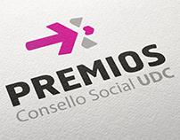 Logotipo Premios Consello Social UDC