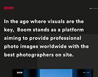 BOOM Image – Website