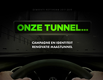 Campagne en identiteit renovatie Maastunnel