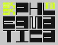 SK Phlegmatica — Free Font