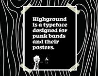 Highground Typeface