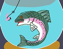 Fish food for Sferes / Рыбий корм для ИД Сферы