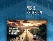 NIC.ie Logistics — Corporate Website Redesign