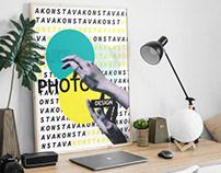 "Poster ""Vakonsta: art, photo, design"""