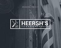 Heersh's Barbershop - Logo Design