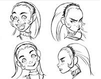 Umbrella Project Character Designs