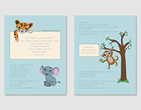Safari Baby Shower Invitation