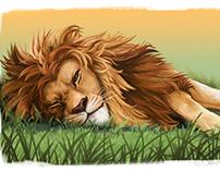 Lion's Nap