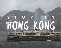 Stop in Hong Kong