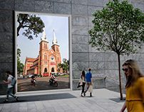 Duc Ba Church, in Ho Chi Minh City, Vietnam