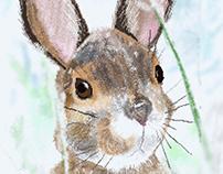 Pixel hare