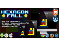 HTML5 Game: Hexagon Fall
