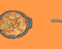 Ilustración - Patrón Sopa Instantánea