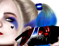 Illustrations- Harley Quinn