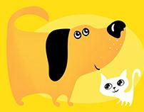 Logo for a veterinary clinic