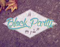 Block Party Youth Event Graphic