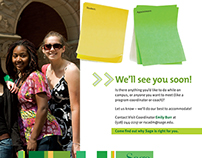 The Sage Colleges, Appointment Reminder Cards