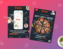 Branding Identity for Food Delivery App Foodies