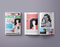 Magazine design, 4RCH1T3CH