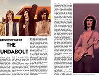 Magazine page spread I