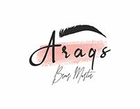 Logo design for Araqs Brows Master