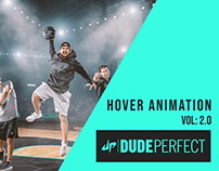 Hover Animation | Dude Perfect | Adobe XD