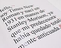 Jenson, Plantin, Times