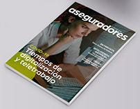 Diseño de la Revista 'Aseguradores'