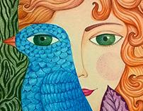 Ilustraciones - Lápices de color / Acuarelas