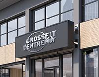 Logo Crossfit L'entrepot