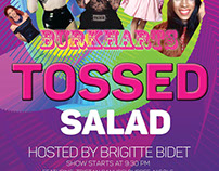 Tossed Salad Show Promo Flyer