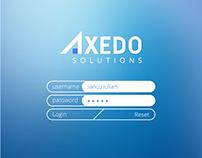 Axedo - App design