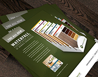 Flyer Design - Waterfall Display