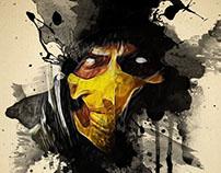 Mortal Kombat Series - Watercolour