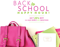 KRISP Fresh Living - Back to School