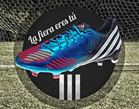 Propuesta gráfica para Adidas Football