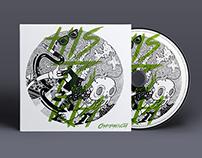 Champagnota | Album Cover Illustration