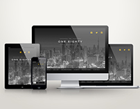 Web Design Mockups for The One Eighty