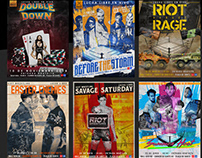 Riot Wrestling: Posters