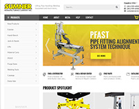 Sumner Home page design