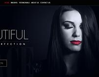 Doll Face Brushes Website Design