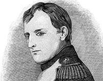 Hippolyte Delaroche «Emperor Napoleon» Remake