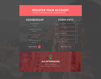 KNOW ME MEMBERSHIP LOGIN & REGISTRATION PAGE