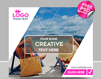 15 FREE Travel / Vacation Banner IN PSD
