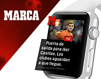 Apple watch UI  |  Marca #apple #watch #design  #marca