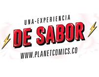 Plane Comics - Menu