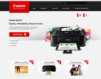Canon PH - Website Re-Design Proposal
