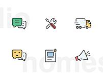 Homestudio - app icons