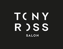 Tony Ross Salon — Visual Identity